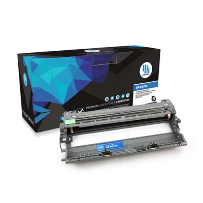 Gotoners™ Brother New Compatible DR-210CL 4 Drum Unit, Standard Yield