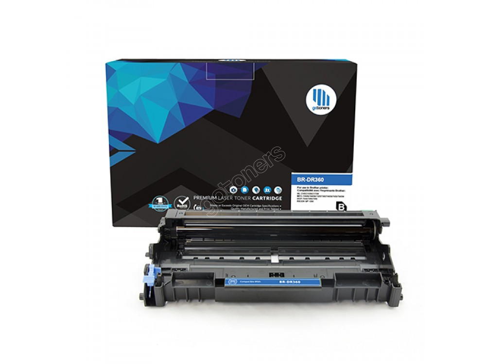 Gotoners™ Brother New Compatible DR-360 Black Drum Unit, Standard Yield