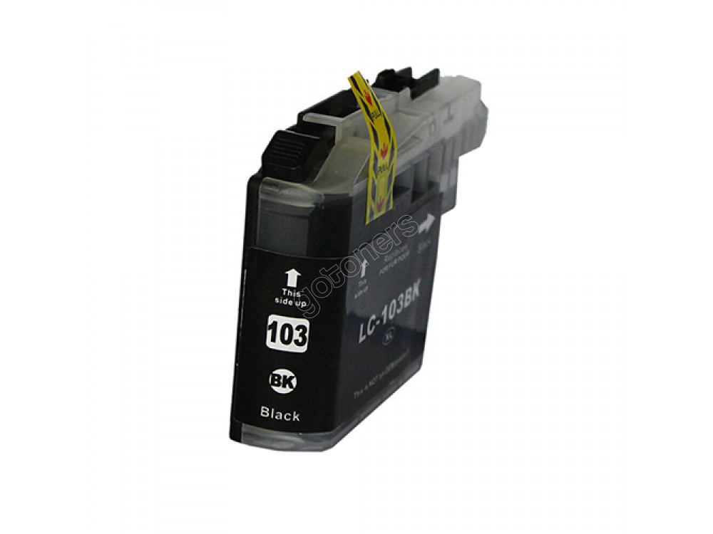 Gotoners™ Brother New Compatible LC103BK XL Black Inkjet Cartridge, High Yield