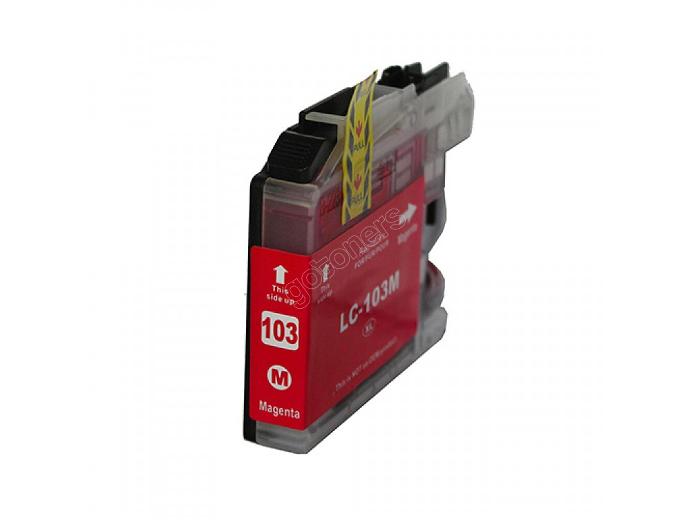 Gotoners™ Brother New Compatible LC103M XL Magenta Inkjet Cartridge, High Yield