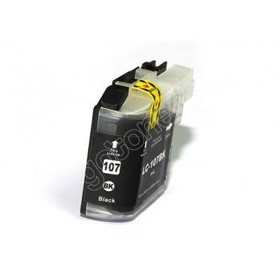 Gotoners™ Brother New Compatible LC105/107BK XXL Black Inkjet Cartridge, Extra Yield