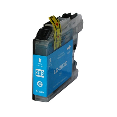 Gotoners™ Brother New Compatible LC203C Cyan Inkjet Cartridge, Standard Yield