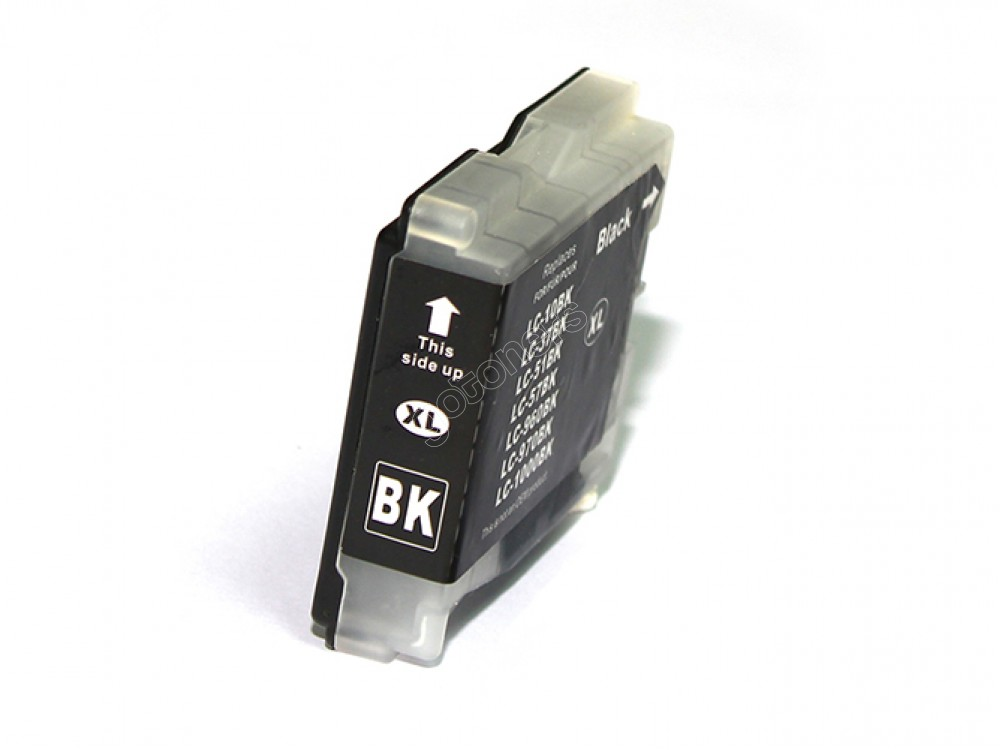Gotoners™ Brother New Compatible LC51BK XL Black Inkjet Cartridge, High Yield