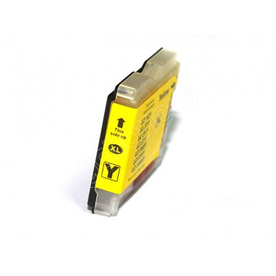Gotoners™ Brother New Compatible LC51Y XL Yellow Inkjet Cartridge, High Yield