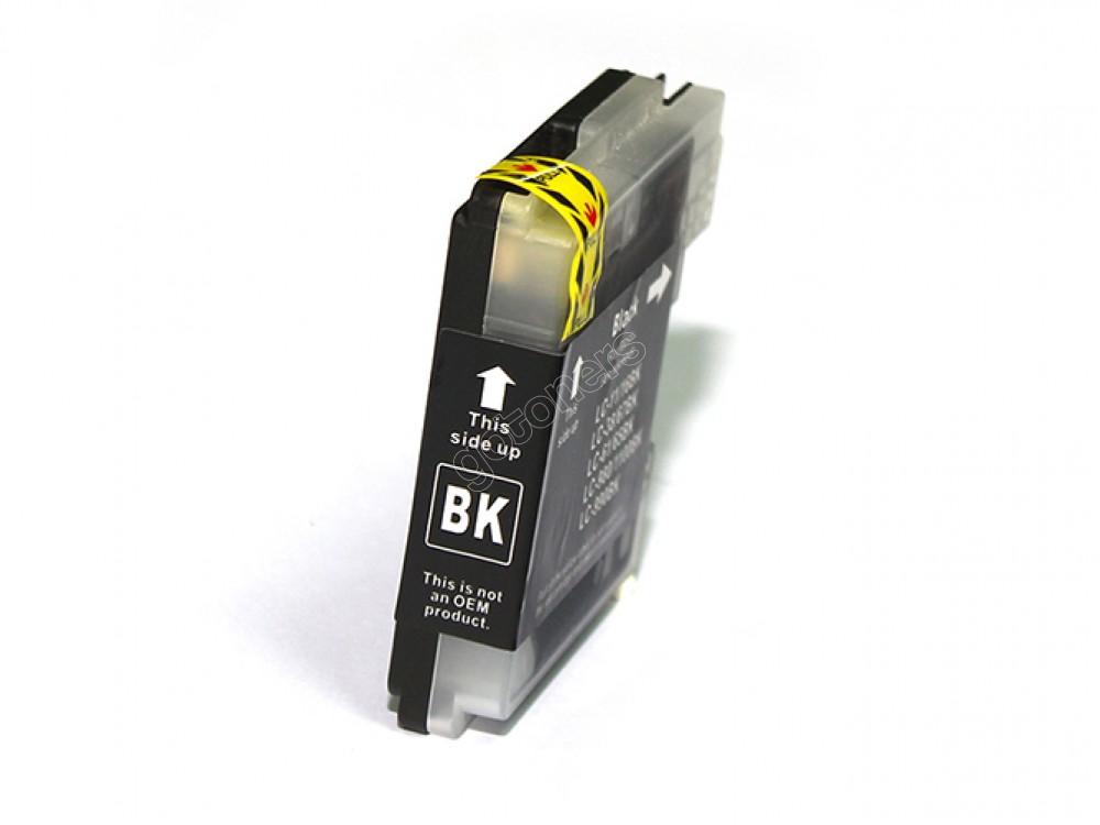 Gotoners™ Brother New Compatible LC61BK Black Inkjet Cartridge, Standard Yield