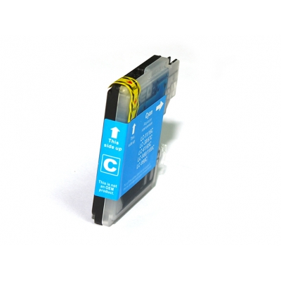 Gotoners™ Brother New Compatible LC61C Cyan Inkjet Cartridge, Standard Yield
