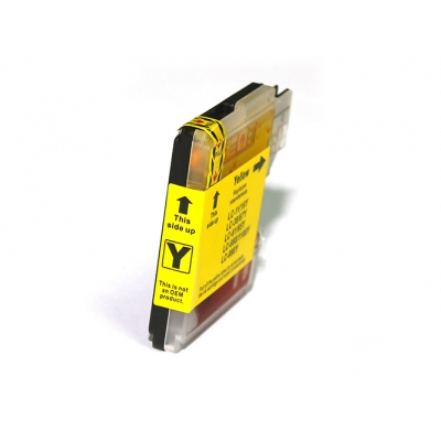 Gotoners™ Brother New Compatible LC61Y Yellow Inkjet Cartridge, Standard Yield