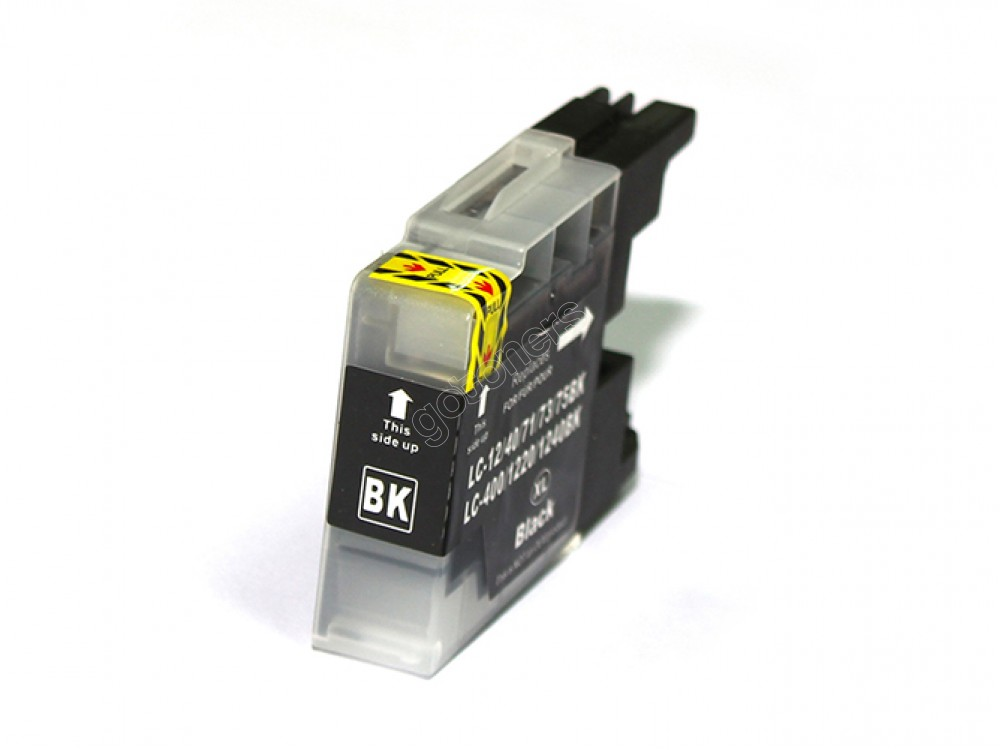 Gotoners™ Brother New Compatible LC71BK Black Inkjet Cartridge, Standard Yield