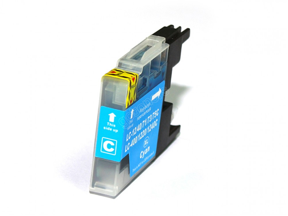 Gotoners™ Brother New Compatible LC71C Cyan Inkjet Cartridge, Standard Yield