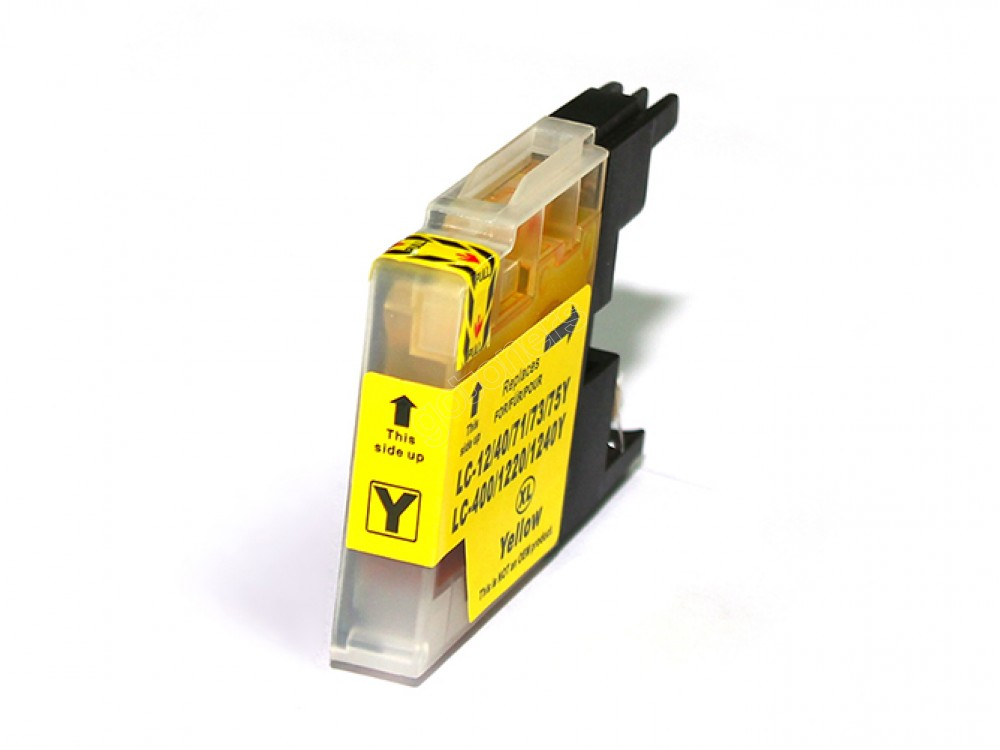 Gotoners™ Brother New Compatible LC71Y Yellow Inkjet Cartridge, Standard Yield