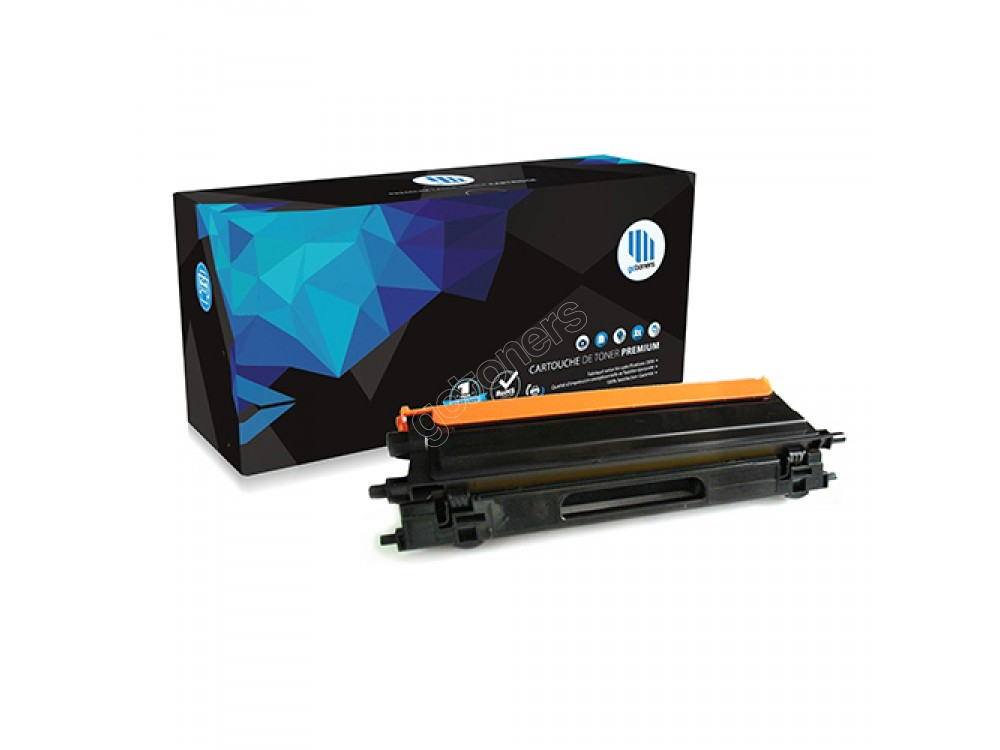 Gotoners™ Brother Compatible TN-115BK Black Remanufactured Toner , Standard Yield