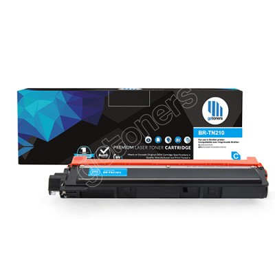 Gotoners™ Brother New Compatible TN-210 Cyan Toner, Standard Yield