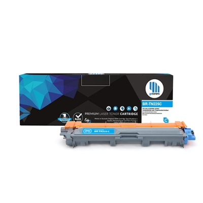 Gotoners™ Brother New Compatible TN-225 Cyan Toner, High Yield