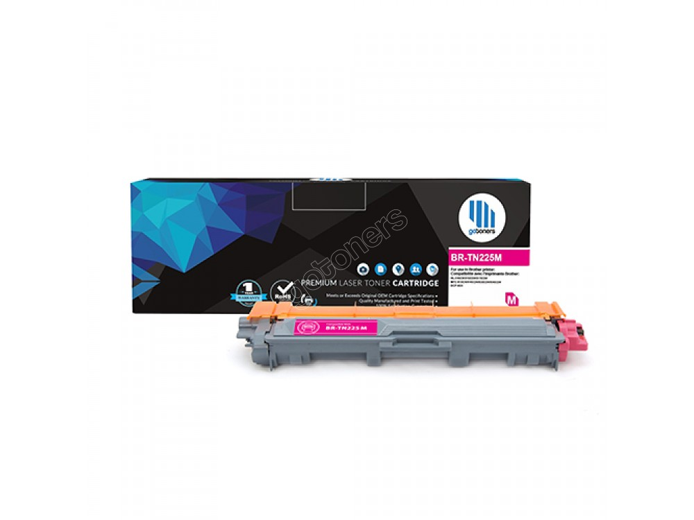 Gotoners™ Brother New Compatible TN-225 Magenta Toner, High Yield