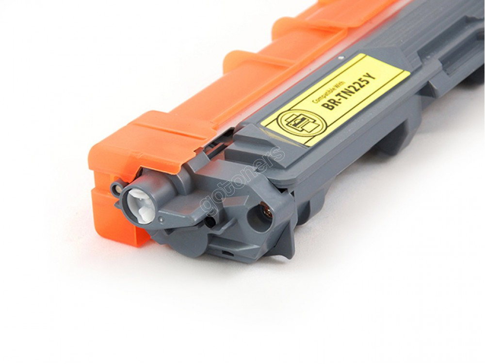 Gotoners™ Brother New Compatible TN-225 Yellow Toner, High Yield