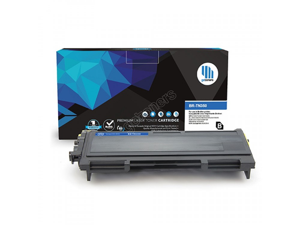 Gotoners™ Brother New Compatible TN-350BK Black Toner, Standard Yield