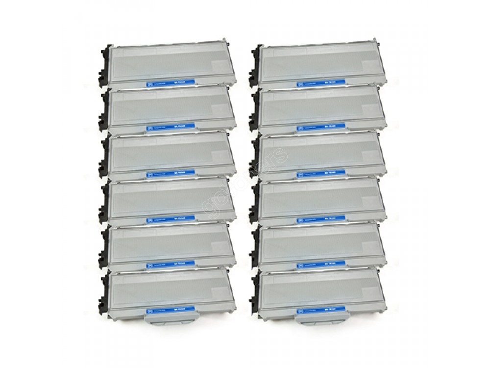 Gotoners™ Brother New Compatible TN-360BK Black Toner, High Yield, 12 pack