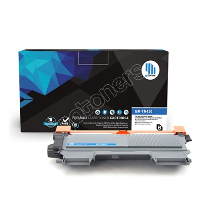 Gotoners™ Brother New Compatible TN-450BK Black Toner, High Yield Version of TN-420BK