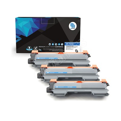 Gotoners™ Brother New Compatible TN-450BK Black Toner, High Yield Version of TN-420BK, 3 Pack