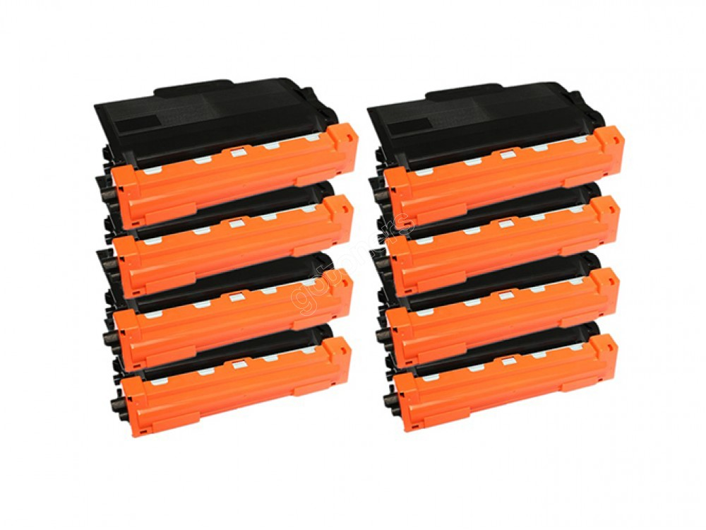 Gotoners™ Brother New Compatible TN-820BK Black Toner, Standard Yield, 8 pack