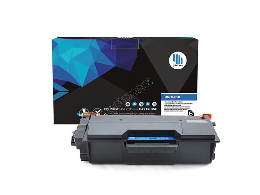 Gotoners™ Brother New Compatible TN-850BK Black Toner, High Yield Version of TN-820BK