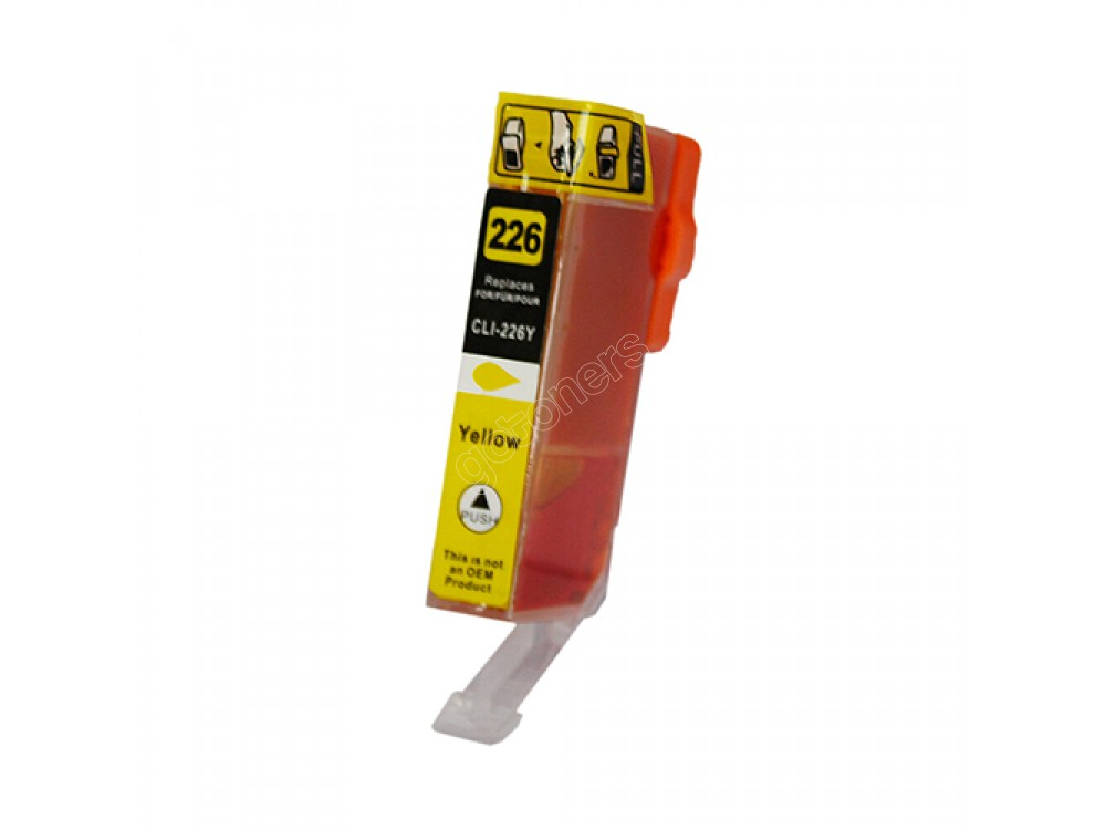 Gotoners™ Canon New Compatible CLI-226Y Yellow Inkjet Cartridge, Standard Yield