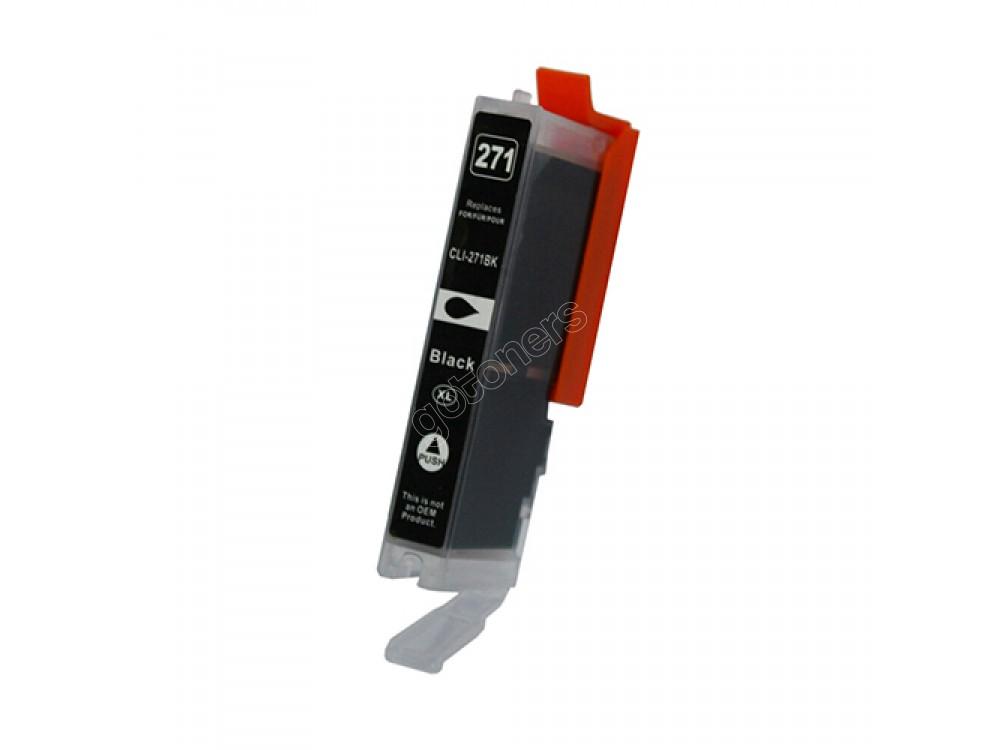 Gotoners™ Canon New Compatible CLI-271BK XL Black Inkjet Cartridge, High Yield