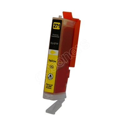 Gotoners™ Canon New Compatible CLI-271Y XL Yellow Inkjet Cartridge, High Yield