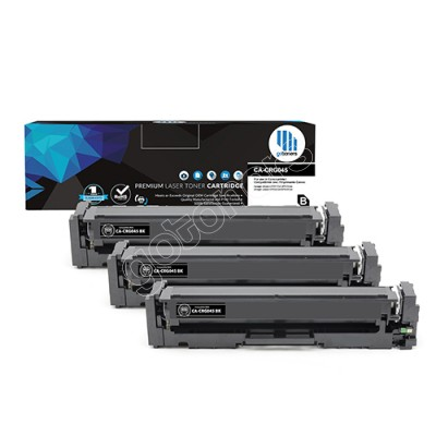 Gotoners™ Canon New Compatible CRG045 (1242C001) Black Toner, Standard Yield, 3 Pack