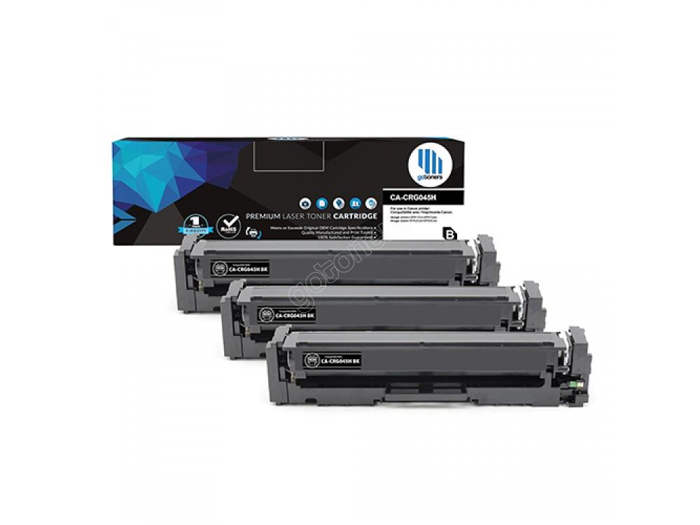 Gotoners™ Canon New Compatible CRG045H BK (1246C001) Black Toner, High Yield, 3 Pack