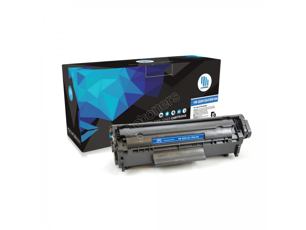 Gotoners™ Canon New Compatible Canon RG104 (0263B001AA) Black Toner Cartridge, Standard Yield