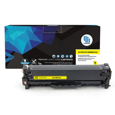 Gotoners™ Canon New Compatible CRG118 (2659B001AA) Yellow Toner, Standard Yield