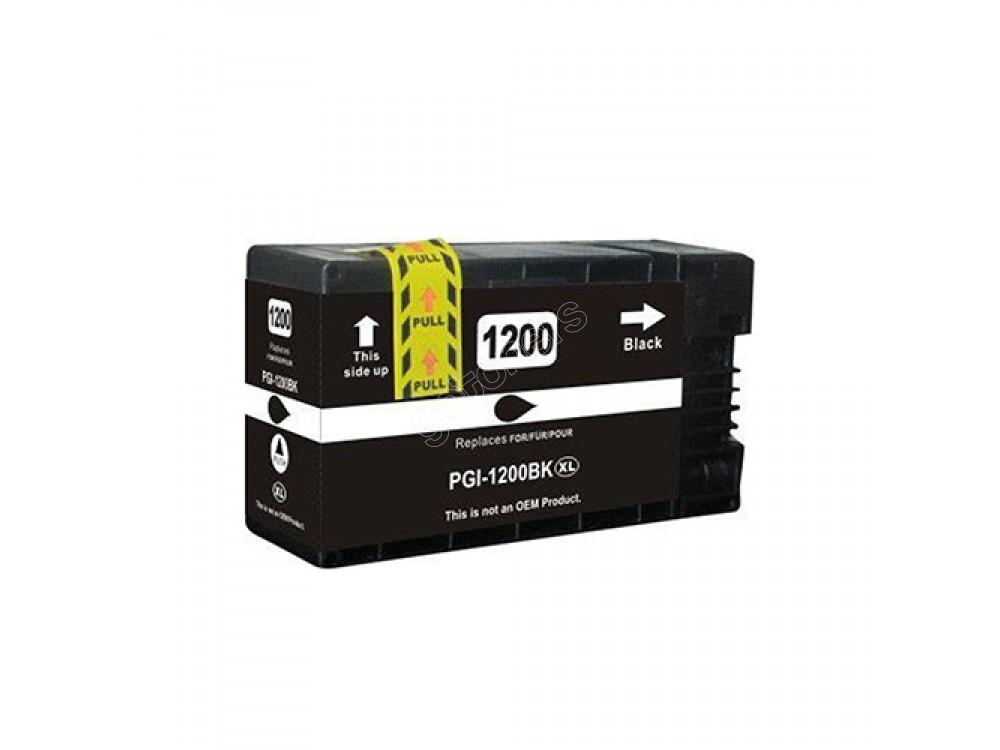 Gotoners™ Canon New Compatible PGI-1200BK XL Black Inkjet Cartridge, High Yield
