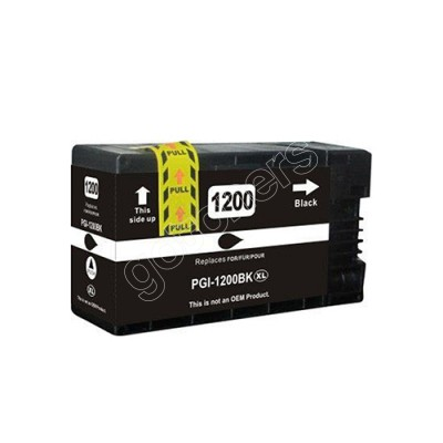 Gotoners™ Canon New Compatible PGI-1200BK XL Black Inkjet Cartridge, High Yield