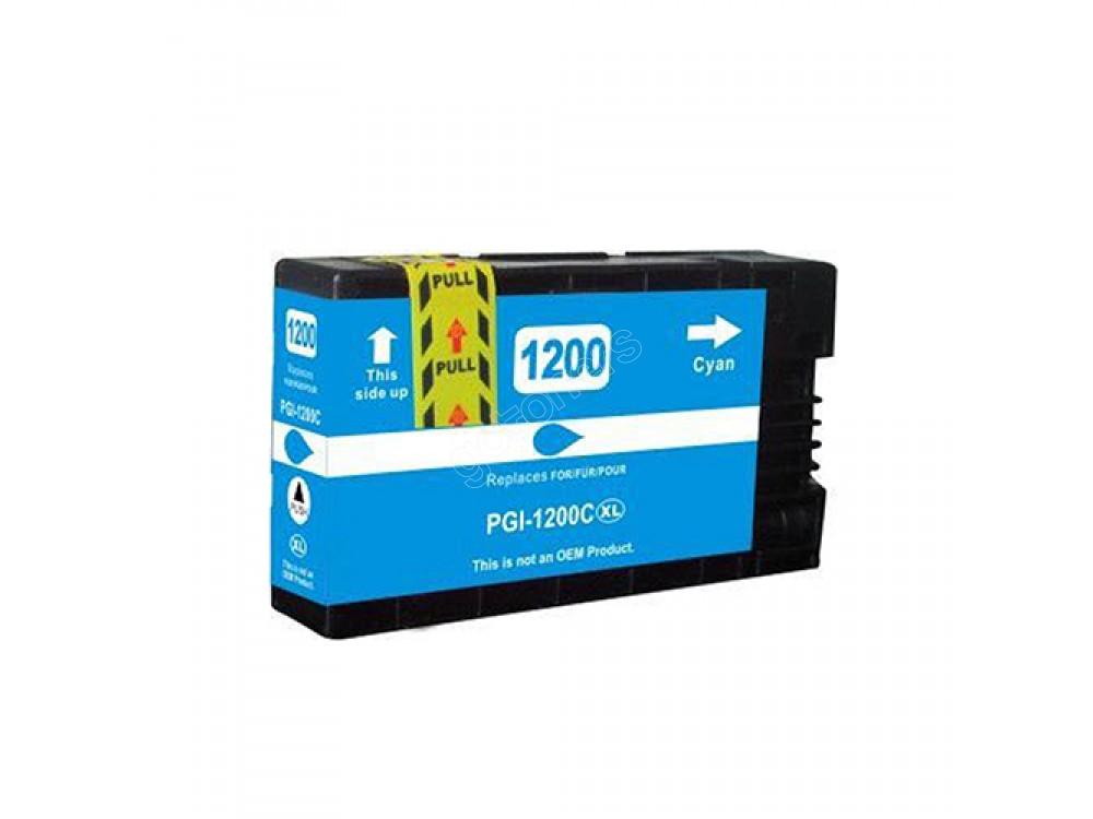 Gotoners™ Canon New Compatible PGI-1200C XL Cyan Inkjet Cartridge, High Yield