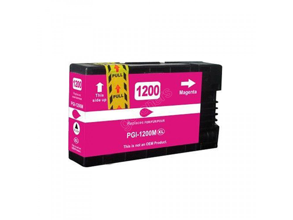 Gotoners™ Canon New Compatible PGI-1200M XL Magenta Inkjet Cartridge, High Yield