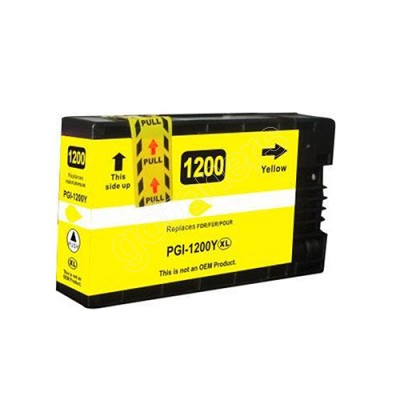 Gotoners™ Canon New Compatible PGI-1200Y XL Yellow Inkjet Cartridge, High Yield