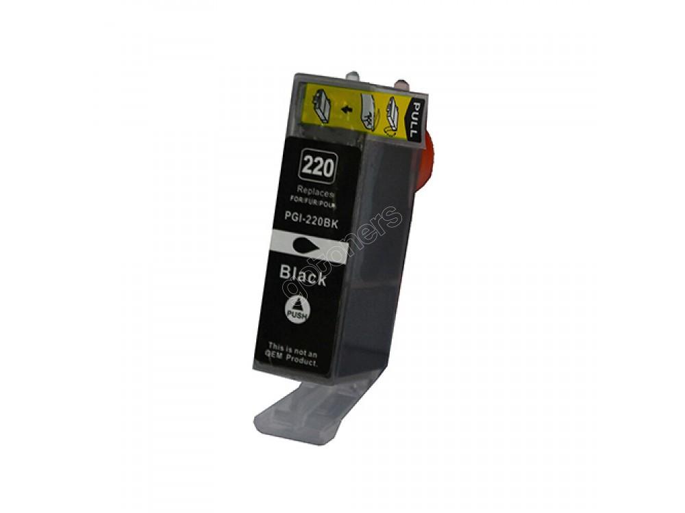 Gotoners™ Canon New Compatible PGI-220BK Black Inkjet Cartridge, Standard Yield