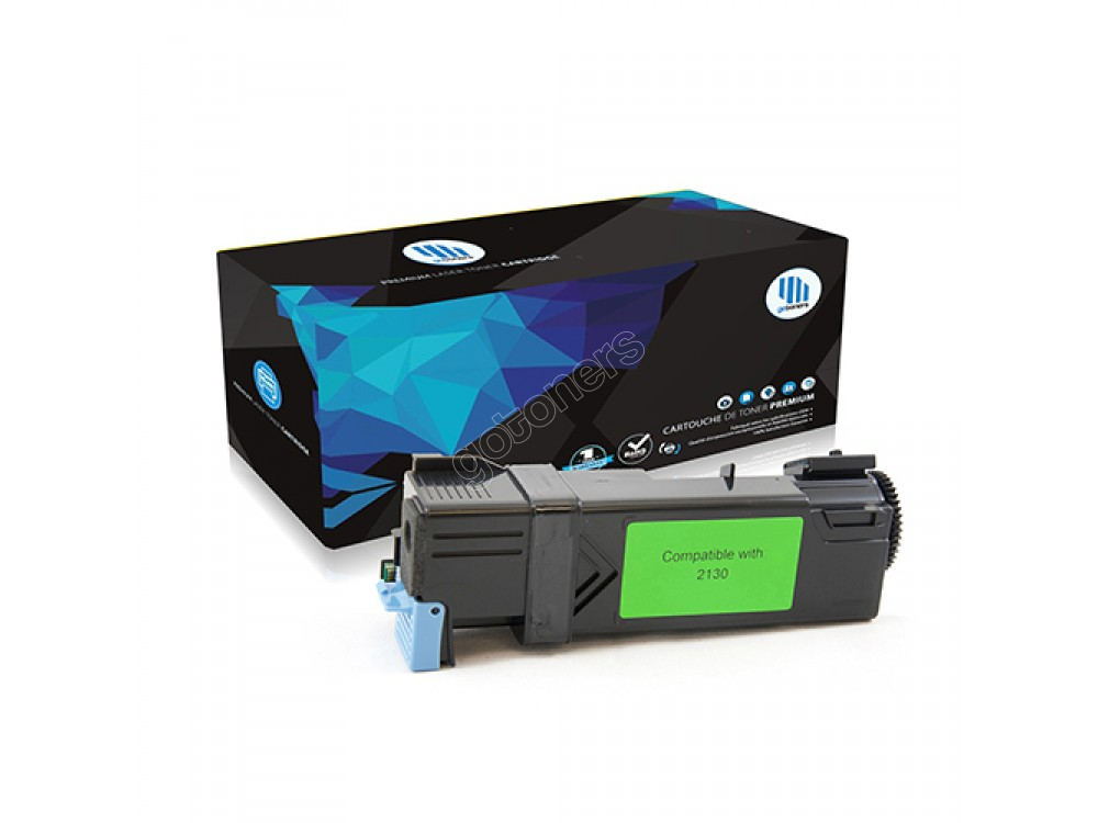 Gotoners™ Dell New Compatible 330-1437 (2130) Cyan Toner Kit, Standard Yield