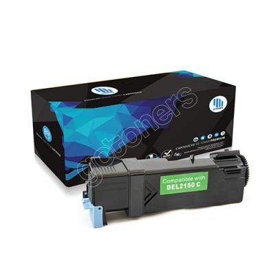 Gotoners™ Dell New Compatible 331-0716 (2150/2155) Cyan Toner Kit, Standard Yield