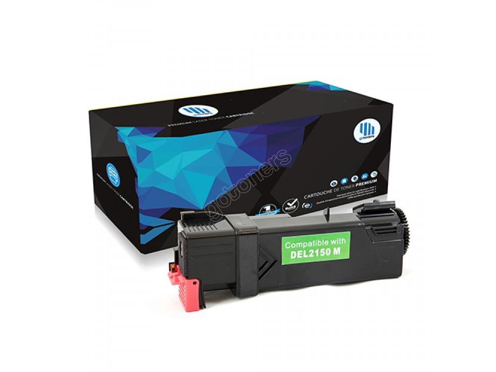 Gotoners™ Dell New Compatible 331-0717 (2150/2155) Magenta Toner Kit, Standard Yield