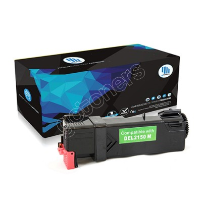 Gotoners™ Dell New Compatible 331-0717 (2150/2155) Magenta Toner Kit, Standard Yield