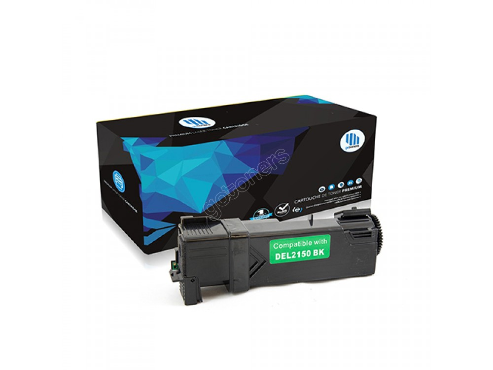 Gotoners™ Dell New Compatible 331-0719 (2150/2155) Black Toner Kit, Standard Yield