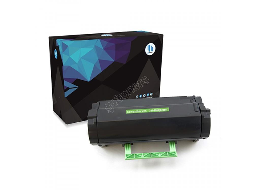 Gotoners™ Dell New Compatible 331-9803(B2360) Black Toner Cartridge, Standard Yield