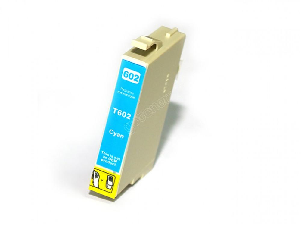 Gotoners™ Epson New Compatible T0602 Cyan Inkjet Cartridge, Standard Yield