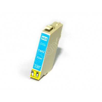 Gotoners™ Epson New Compatible T0602 Cyan Inkjet Cartridge, Standard Yield