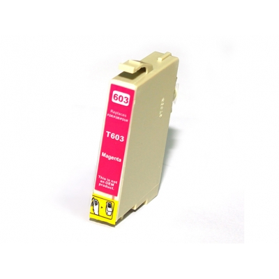 Gotoners™ Epson New Compatible T0603 Magenta Inkjet Cartridge, Standard Yield