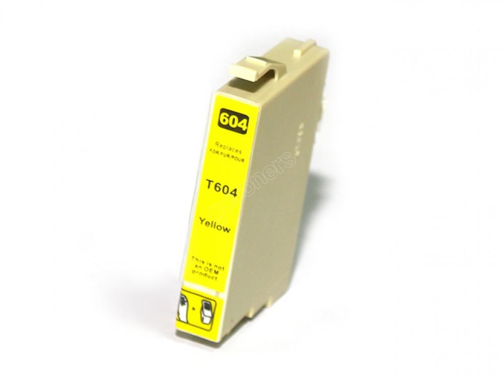 Gotoners™ Epson New Compatible T0604 Yellow Inkjet Cartridge, Standard Yield