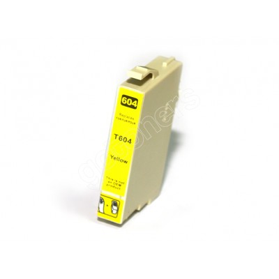 Gotoners™ Epson New Compatible T0604 Yellow Inkjet Cartridge, Standard Yield