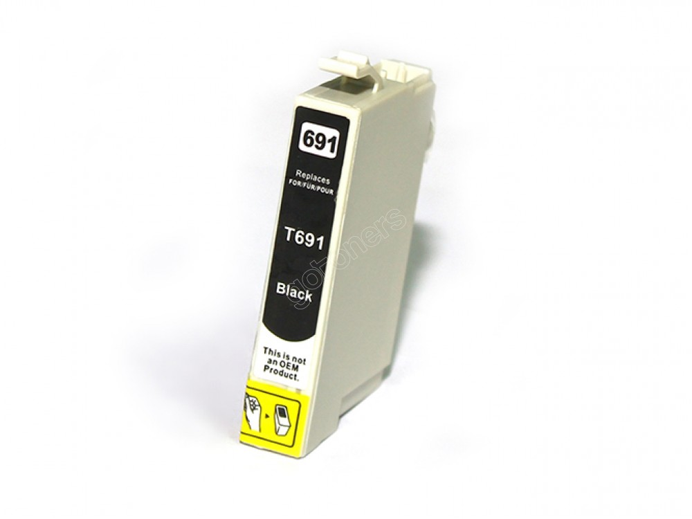 Gotoners™ Epson New Compatible T0691 Black Ink Cartridge, Standard Yield